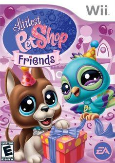 Littlest Pet Shop Friends Nintendo Wii Game Pet Shop Video