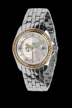 Rotator Mid-size 41mm Automatic Gemstone MOP Dial