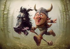 Tiago Hoisel is a Brazilian digital artist specialized in illustration works, the best known are his caricatures. Funny Illustration, Character Illustration, Caricatures, Portfolio D'art, Hidden Art, Arte Horror, Art Graphique, Best Friends Forever, Forever 21