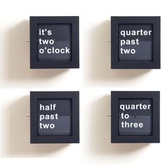 Quarter Word Clock