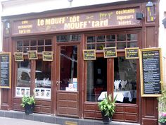 Paris: Le Mouff'tot Mouff'tard on rue Mouffetard - loved this restaurant! (cw12)