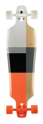 "Goldcoast Pressure Drop Thru Longboard Complete, Multi, 38 x 10.5-Inch by Goldcoast. $219.66. The High Point of Getting Low.  Inspired by BMW and Bauhaus, the Pressure is sleek, clean, and absolutely head-turning. It is a 38"" custom shape, 9 ply drop-through deck with ""W"" concave that gives you incredible stability and control. Under the chassis a. Save 12% Off!"