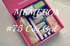 CamomilleBeautyTime: {307} Memebox Superbox #75 City Girl Unboxing Beautybox
