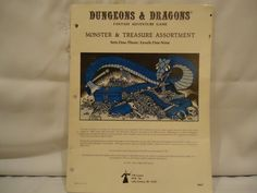 Dungeons and Dragons Monster and Treasure Assortment