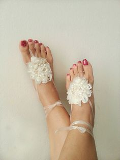 LUX Wedding  Pearl  Sandals Ivory, Toe thong Bottomless shoes, Foot jewelry,Wedding Shoes , beach wedding,bellydance barefoot sandal on Etsy, $28.00