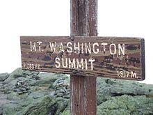 Mount Washington!