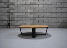 Solid American Oak coffee table
