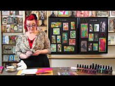 ▶Dyan Reaveley is a HOOT & she shows Masking Dresses Technique - YouTube
