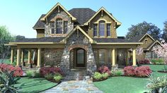 HousePlans.com 120-167  breezeway bungalow  2552 sqft