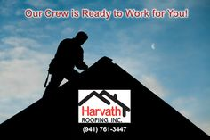 You have a choice.  Choose Wisely.  Choose Harvath Roofing. #BradentonRoofingCompany