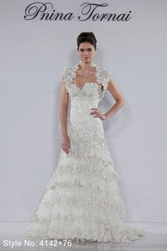From the 2012 #pnina_tornai bridal collection style no. 4142