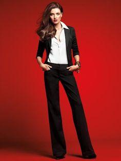 Chic business attire