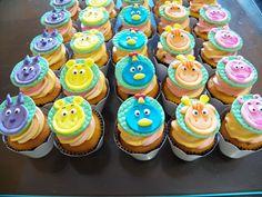 Cupcakes backyardigans