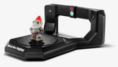 makerbot digitizer desktop 3D scanner shipping mid-october - designboom | architecture