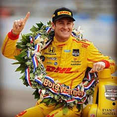 Ryan Hunter-Reay, 2014 Indianapolis 500 Champion