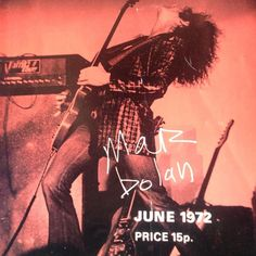 """#getiton March 19th 1972 THE DAY POP CAME BACK! roared a newspaper headline on March 19 1972 the morning after T. Rex played a historic sell-out show at the Empire Pool in Wembley. T. Rextasy was now official with Bolan hailed as the pinup idol of countless glitter girls (and boys). """"I've never seen so many beautiful fourteen-year-old girls in my life as at the T. Rex Wembley concert"""" reported Charles Shaar Murray in Cream. Bolan was now red-hot scoring two genius No. 1s with 'Telegram Sam'…"""