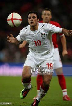 Egypt's Amr Zaki in action