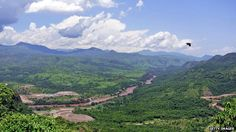 Omo valley, where massive dam is being built