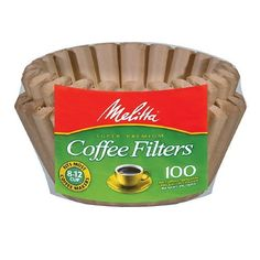 Melitta Coffee Filters Natural Brown812 countmulti pack 100 -- Check out the image by visiting the link. (This is an affiliate link) #CoffeeMachineAccessories