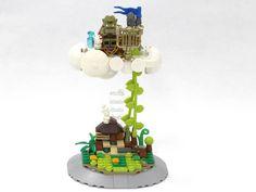 "LEGO Ideas - Fairy Tale Modular "" Jack and the Beanstalk """