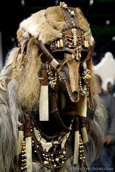 shamanic clothing: