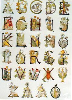 Ottilia Adelborgs alfabet