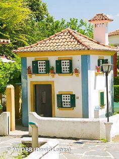 O Portugal dos Pequenitos, em Coimbra, foi inaugurado em 1940. Obra do  arquiteto Cassiano Branco