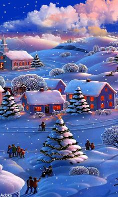 Animated winter
