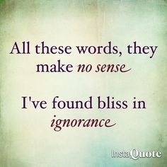 'All these words they make no sense, I've found bliss in ignorance.' - lyrics from 'One step closer' by Linkin Park #lyricart