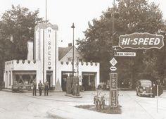 Hi-Speed Gas  E. Lansing, MI. 1940
