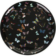 Fornasetti Farfalle Tray - 60cm Dia.