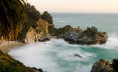 McWay Falls - Just south of Big Sur - lots of trails