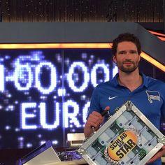 Arne Friedrich gewinnt bei Schlag den Star.