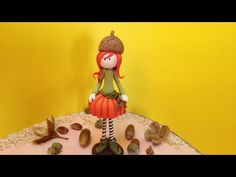 Pumpkin doll/ Boneca Abobrinha- Polymer clay (Fimo) - YouTube