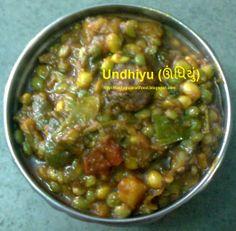 Enjoy spicy undhiyu recipe in gujarati language by tasty gujarati food recipes blog, celebrate uttarayan festival with delicious mouthwatering undhiyu in lunch.