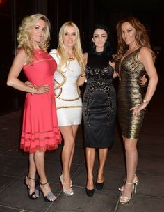 Lisa Murphy Broody Wants A Christmas Baby - Lisa with her Dublin Wives co-stars Roz Flanagan, Virginia Macari and Jo Jordan