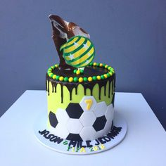 21+ Excellent Image of Soccer Birthday Cakes Soccer Birthday Cakes Soccer Birthday Cake Kustomize Cakes #DiyBirthdayCake Birthday Cake Clip Art, Football Birthday Cake, 12th Birthday Cake, Paw Patrol Birthday Cake, Birthday Cake With Candles, Birthday Cake Girls, Cupcakes Near Me, Soccer Ball Cake, Soccer Party