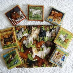 Equestrian Memory Matching Game  Educational by NewEnglandQuilter, $12.00
