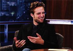 Robert Pattinson will be on Jimmy Kimmel on June 12th! ... Here he is in 2012