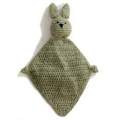 Earth Bunny Blanket -Free pattern from Lion Brand Yarn Crochet Lovey, Crochet Gratis, Crochet Bunny, Crochet Blanket Patterns, Baby Blanket Crochet, Crochet Toys, Free Crochet, Knitting Patterns, Knit Crochet