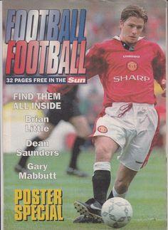 The SUN Football Football Magazine 19 Aug 1996 David Beckham - Manchester United in Books, Comics & Magazines, Magazines, Sports   eBay