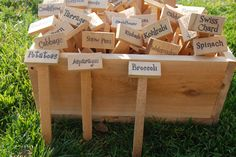 Cedar Garden Marker - Individually Sold