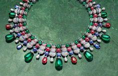 Bulgari Takes Its Couture Jewelry Inspiration from the Italian Gardens #Bulgari #Jewelry