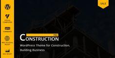 Construction v3.1.6  WP Construction Building Business  Blogger Template