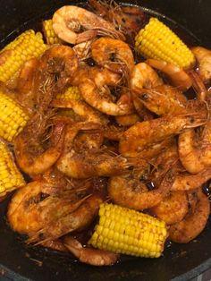 The Whole Shabang Shrimp (Boiling Crab Style) Recipe by Minda - Cookpad Cajun Seafood Boil, Cajun Shrimp Recipes, Seafood Boil Recipes, Crab Recipes, Shrimp And Crab Boil, Sweet Recipes, Chicken Recipes, Kickin Crab Shrimp Recipe, Boiling Crab Shrimp Recipe