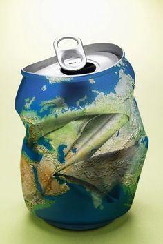 O mundo está sendo jogado fora... Conte com nossa busca por locais para o descarte adequado em: www.ecycle.com.br/postos/reciclagem.php www.eCycle.com.br Sua pegada mais leve.