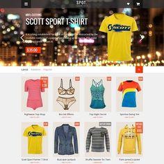 _CTPG_: Template Blogspot - SpotCommerce Shopping - Templa...