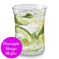 Pineapple Mango Mojito