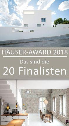 HÄUSER-AWARD 2018: Die 20 Finalisten der Endrunde #architektur #bauen #grundriss #einfamilienhaus #modernbauen #daseigenehaus #häuseraward