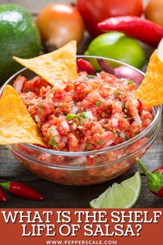 Before you go diving in with a spoon, get your facts. It could be the case that your salsa is no longer fresh and perhaps even spoiled. Yes, salsa does go bad, but the timing differs slightly between homemade and store-bought salsa, as well as an unopened jar vs. an open jar. #salsa #salsafacts #salsatips Spicy Aioli, Baked Beans, Everyday Food, Spicy Recipes, Stuffed Hot Peppers, Vegetable Recipes, Cravings, Salsa, Side Dishes